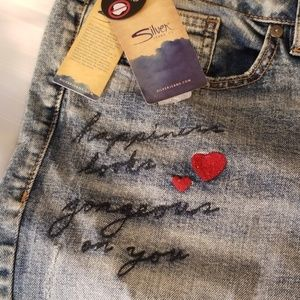 Silver by Levis jeans.